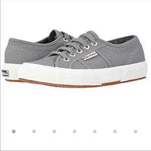Superga Grey canvas sneakers size 39